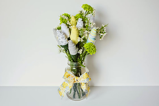 DIY:  Baby Washcloth Bouquet